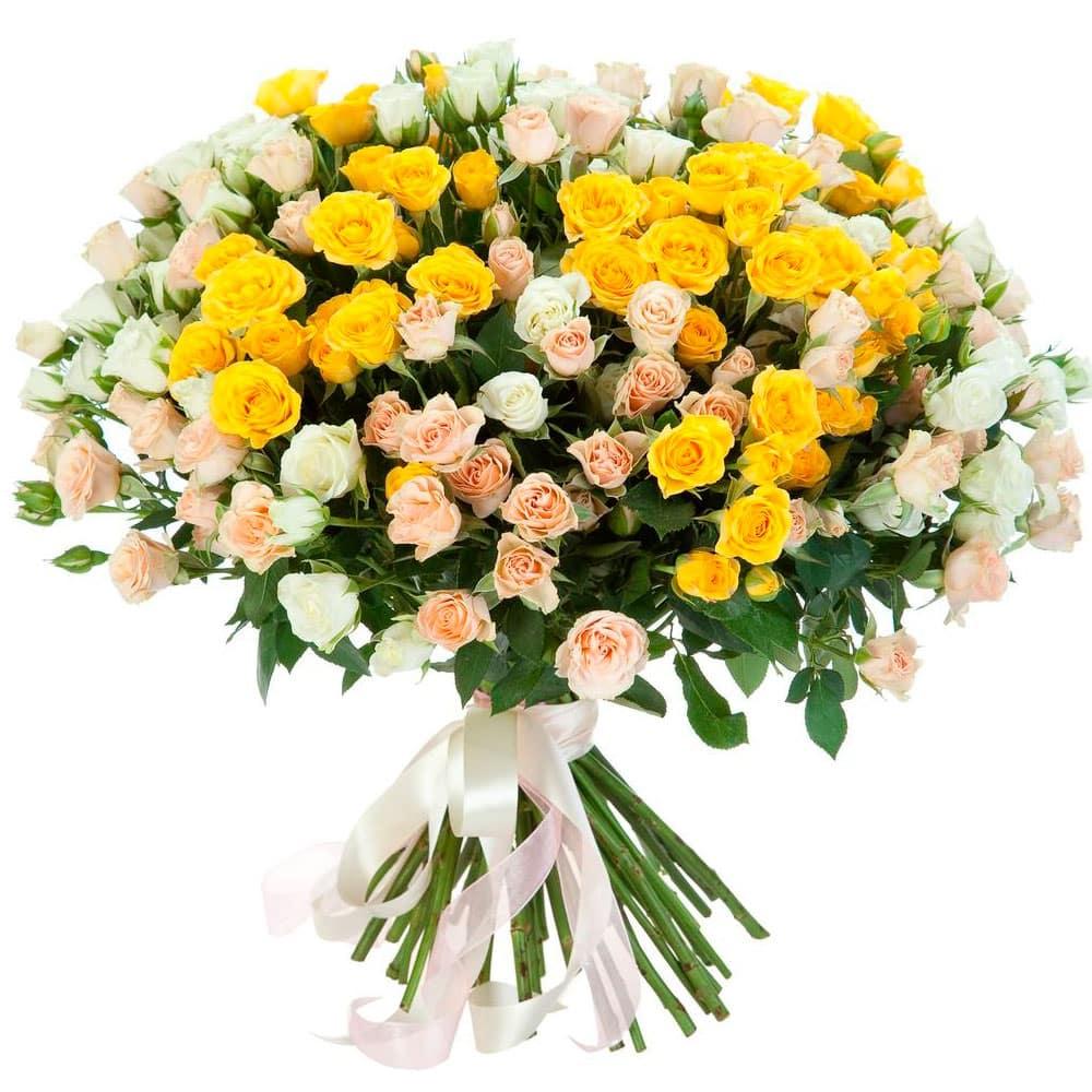 Цветы поштучно с доставкой киев